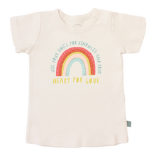 Load image into Gallery viewer, Kindness Rainbow Graphic Tee