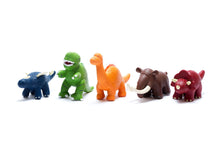 Load image into Gallery viewer, Natural Rubber T-Rex Dinosaur Bath Toy and Teether