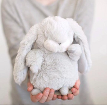 Load image into Gallery viewer, Tiny Nibble Bunny Gray