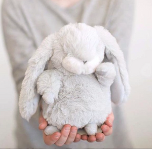 Tiny Nibble Bunny Gray