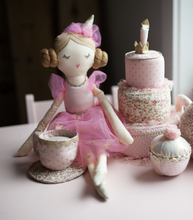 Load image into Gallery viewer, 'Brigitte' Birthday Party Heirloom Doll