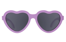 Load image into Gallery viewer, Hearts Ooh La Lavender Sunglasses Ages 3-5