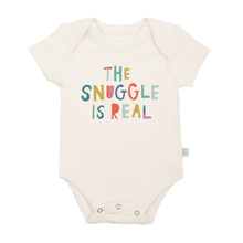 Load image into Gallery viewer, The Snuggle Is Real Graphic Onesie