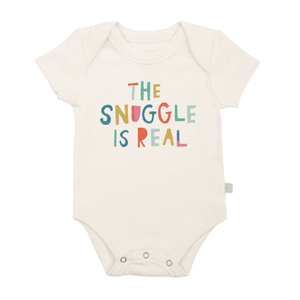 The Snuggle Is Real Graphic Onesie