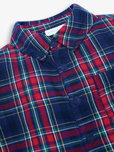Load image into Gallery viewer, Tartan Shirt Navy