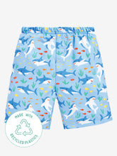 Load image into Gallery viewer, Swim Shorts With Nappy Shark