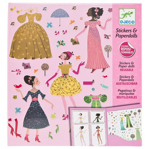 Dresses Through The Seasons Paper Dolls