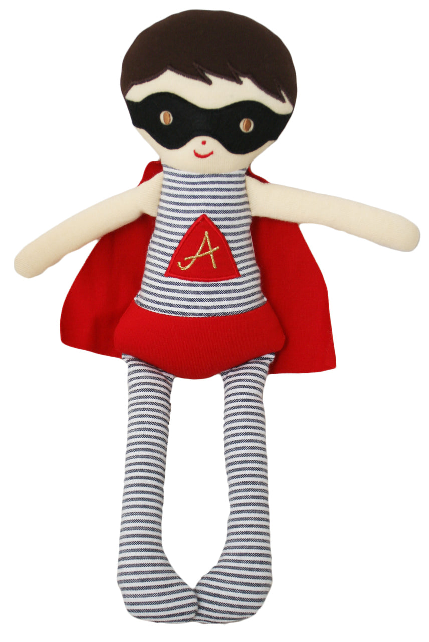 Super Hero Doll Rattle (28cm)