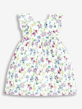 Load image into Gallery viewer, Pretty Floral Summer Dress White