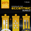 Torus Charge Bundle ECCENTRIC Save 20% Torus720 With Tip plus 6 Connector Tips plus Torus 720 DT With Tip Personalize Your Bundle Apple Iphone USBC Micro Usb Piano Black White Pearl