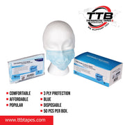 Disposable Face Mask Blue