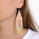 Embera Earrings Rosé
