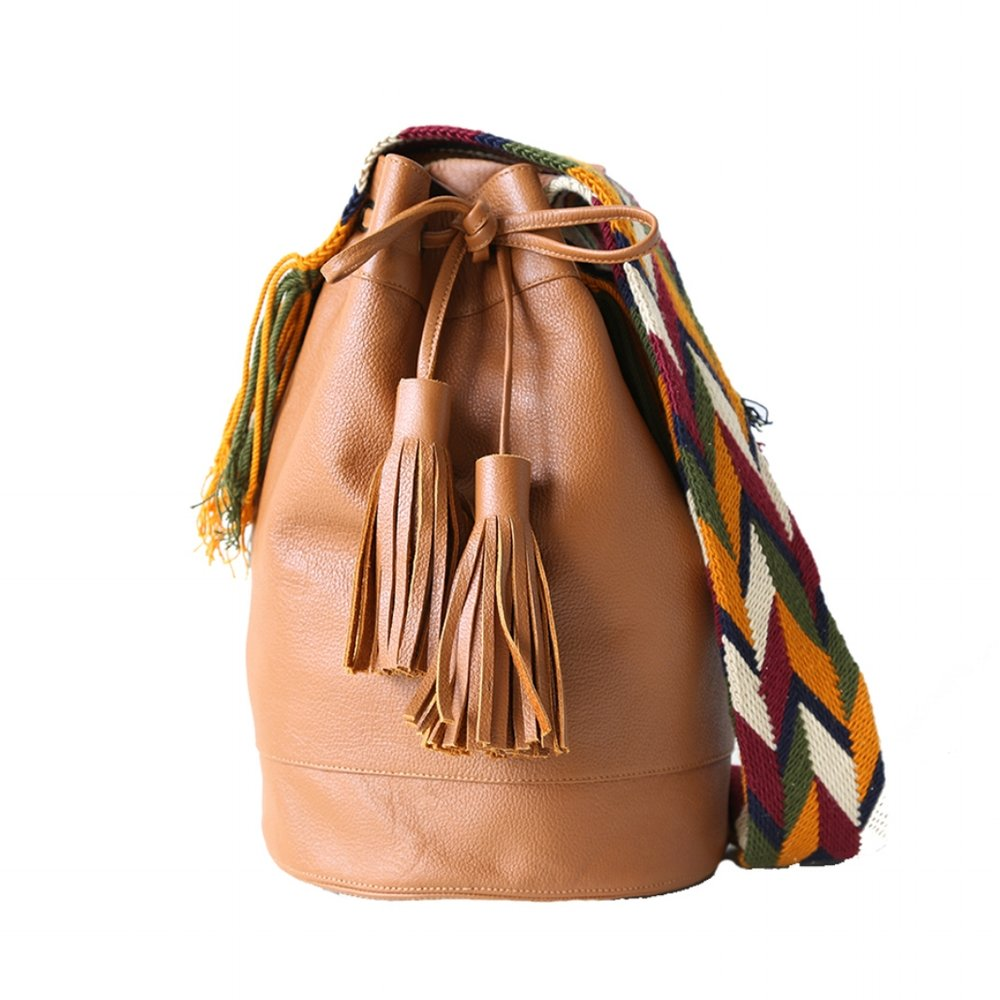 Naataa Leather Mochila
