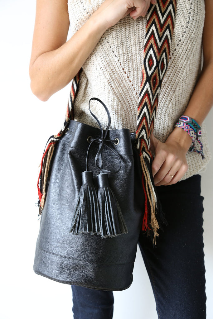 Shottaa Leather Mochila