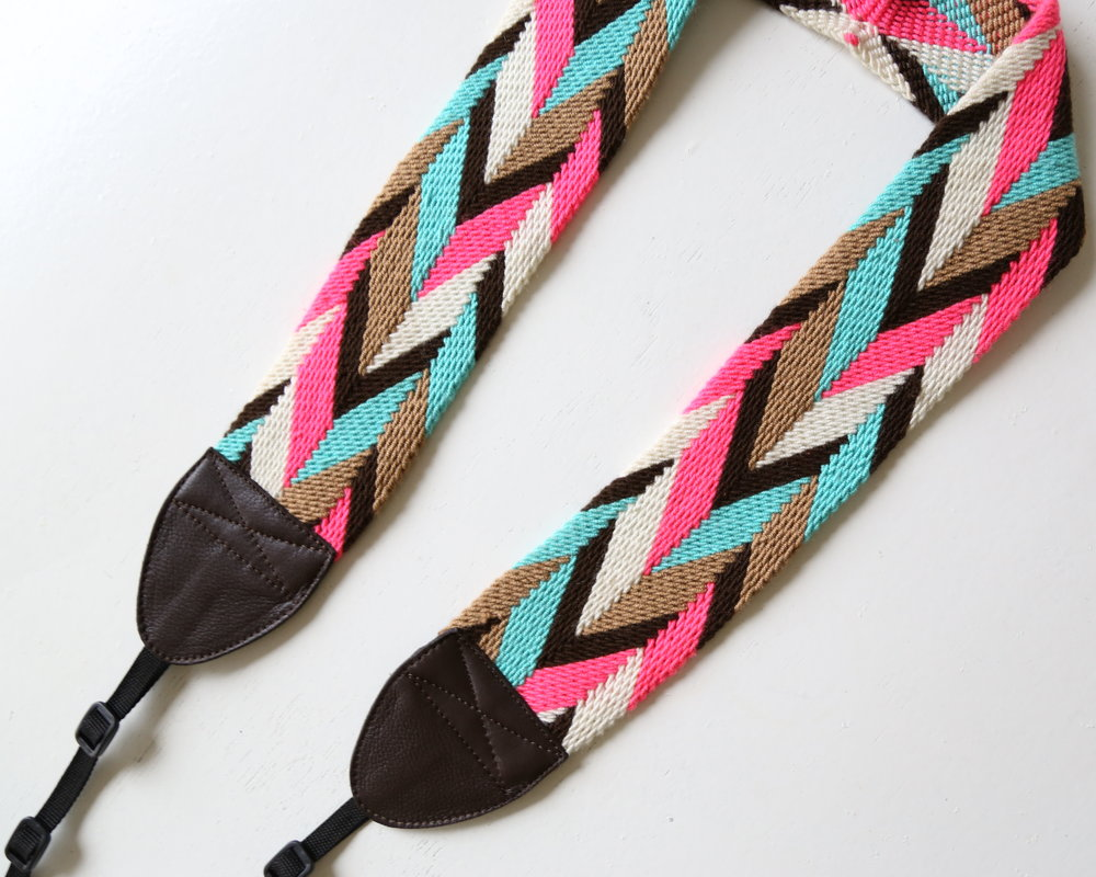 One of a Kind Camera Strap No. 25