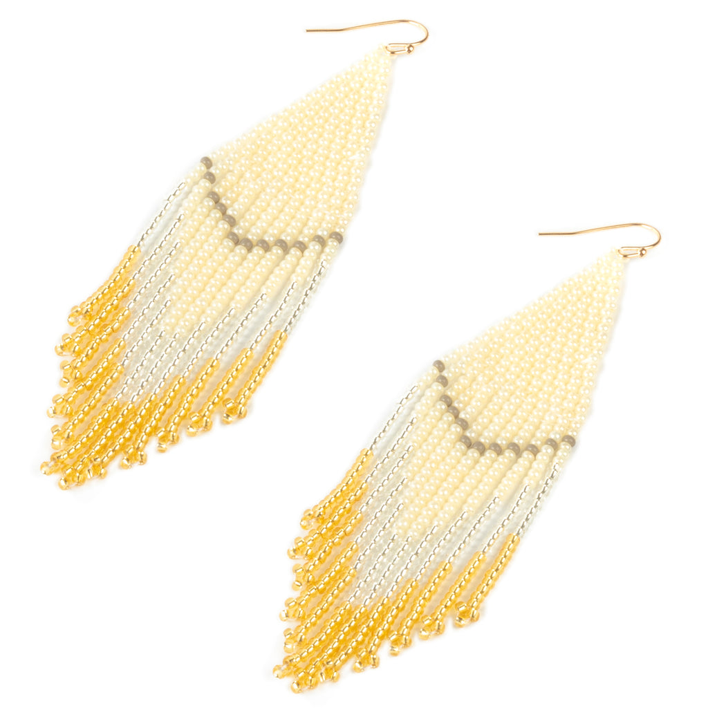 Champagne Embera Earrings