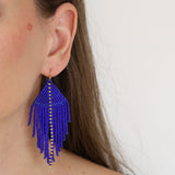 Raya Cobalt Earrings
