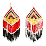 Embera Earrings Fire