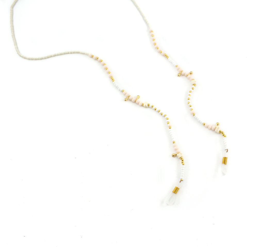 Blanco Bead Glasses Chain