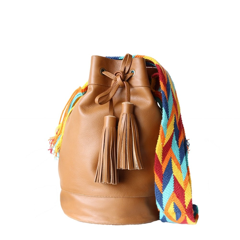 Keenaa Leather Mochila
