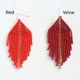 Raya Red Earrings