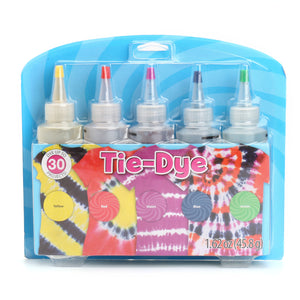 5 Color Tie Dye Kit DIY