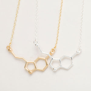 Serotonin Pendant Necklace