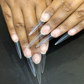 Extra Long Point Stiletto False Nail