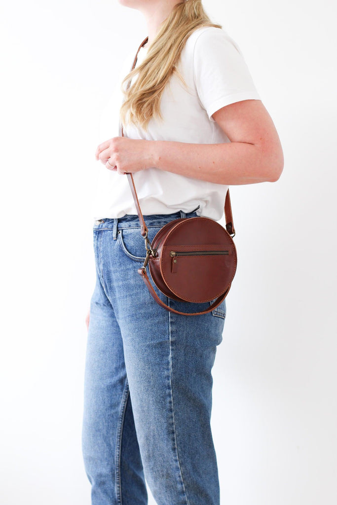 BOMBOM handbag in brown - MOIMOI accessories