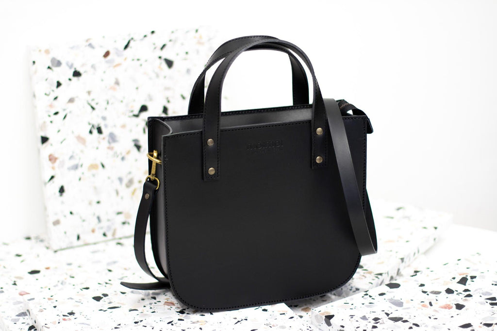 ISABEL tote bag in black - MOIMOI accessories