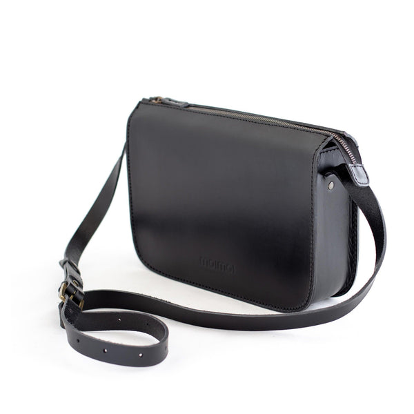 LAURA handbag in black - TREASURES - MOIMOI accessories
