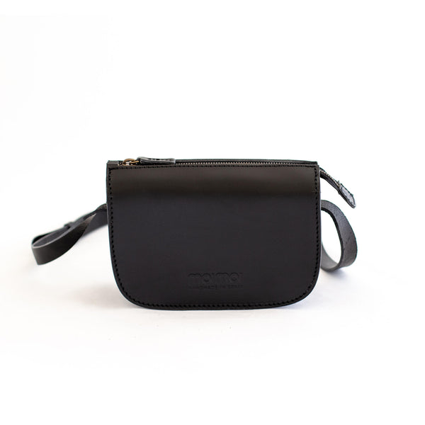 LAURA small handbag in black - MOIMOI accessories
