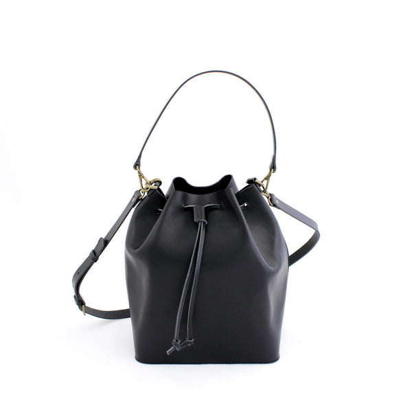 MARILIN bucket bag in black - MOIMOI accessories