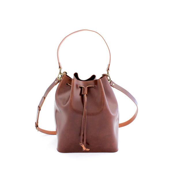 MARILIN bucket bag in brown - TREASURES - MOIMOI accessories