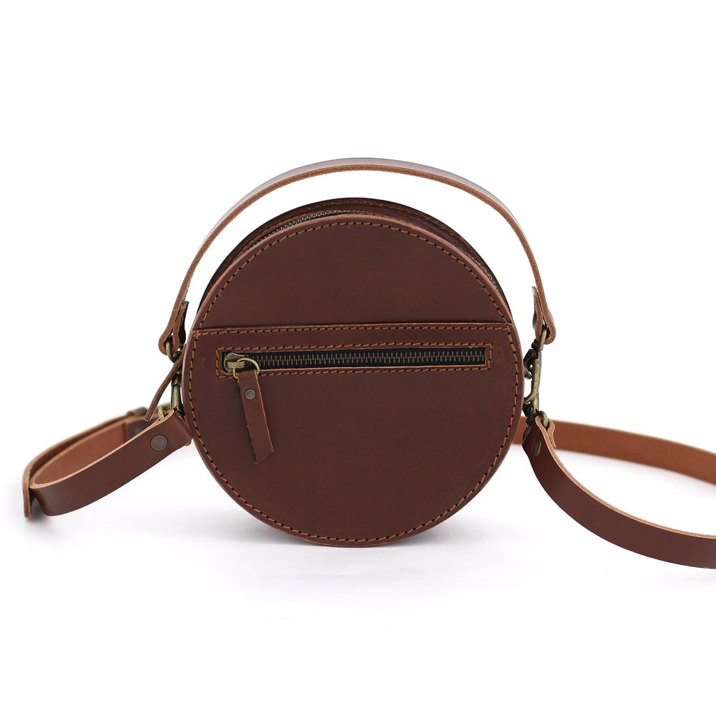 BOMBOM handbag in brown - TREASURES - MOIMOI accessories