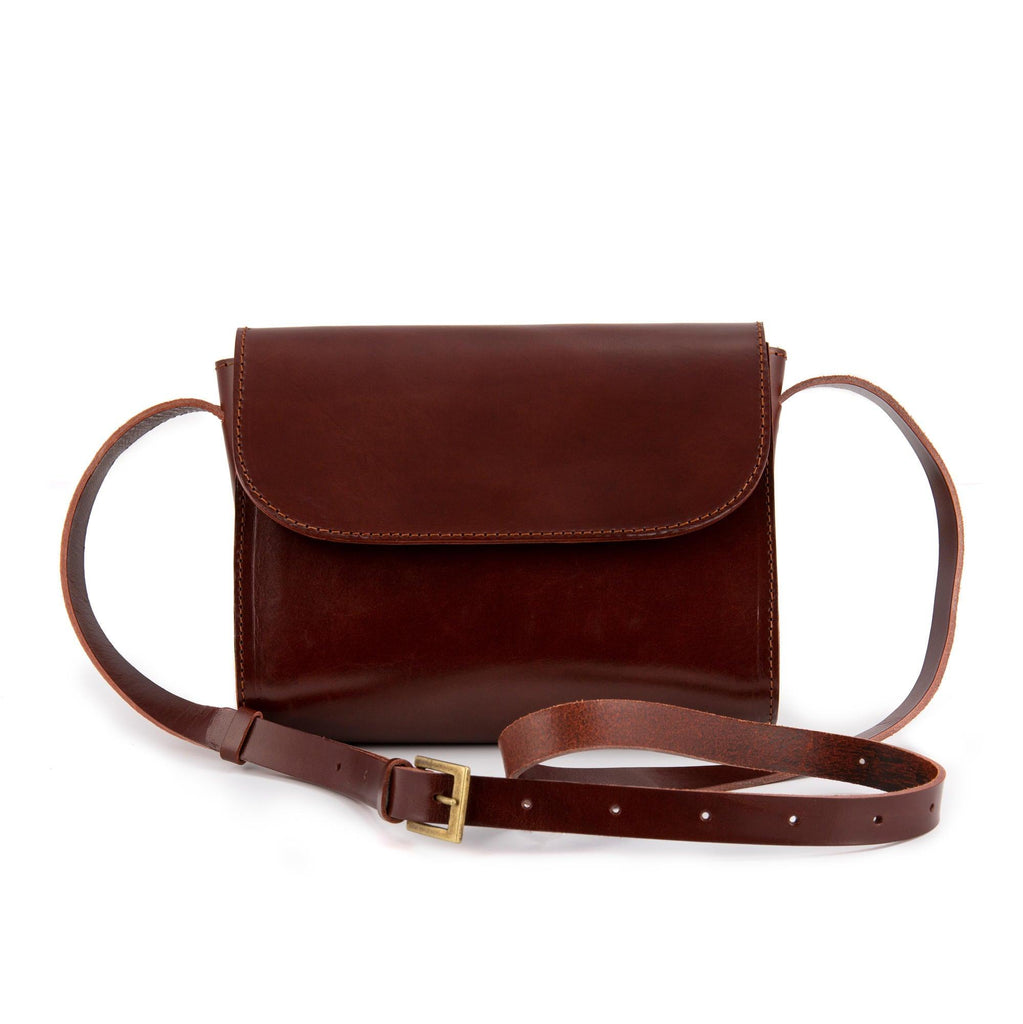 ELVI cross body bag in brown - MOIMOI accessories