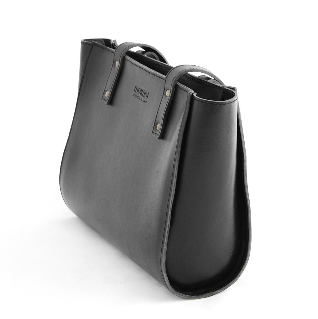 IRMA tote bag in black - TREASURES - MOIMOI accessories