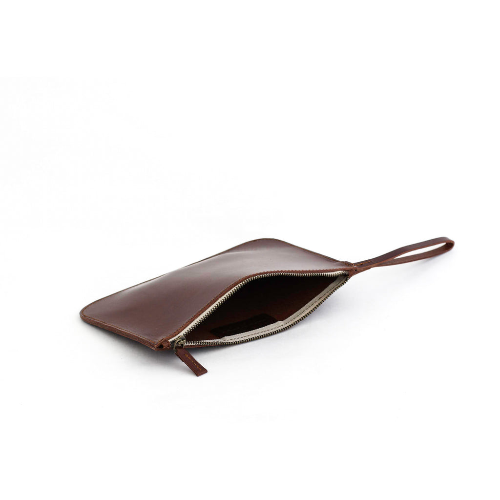 MARIA clutch bag in brown - MOIMOI accessories