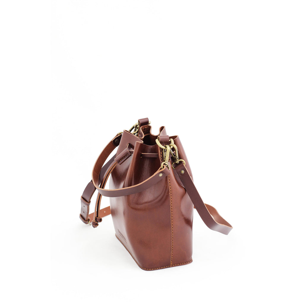MARILIN small bucket bag in brown - MOIMOI accessories