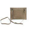 ROSEMARY clutch in beige nubuck - TREASURES - MOIMOI accessories
