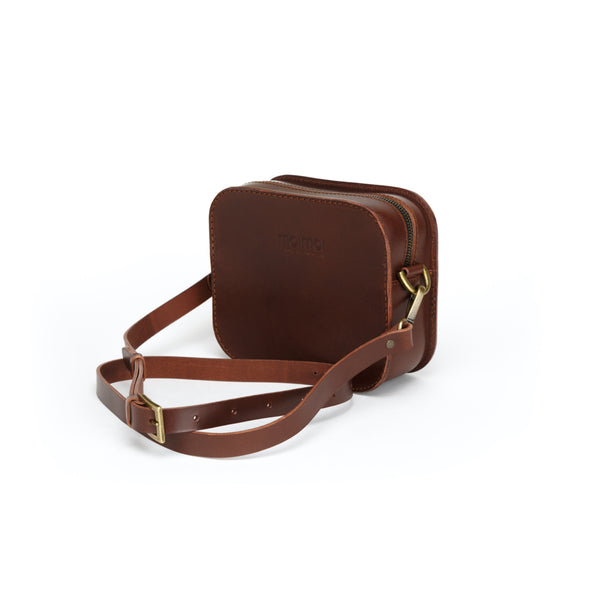 SOFIA crossbody bag in brown - MOIMOI accessories