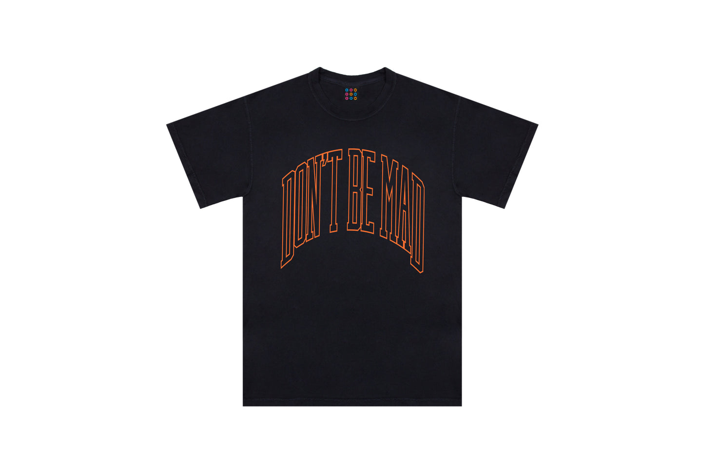 DBM Arched logo tee (Black)