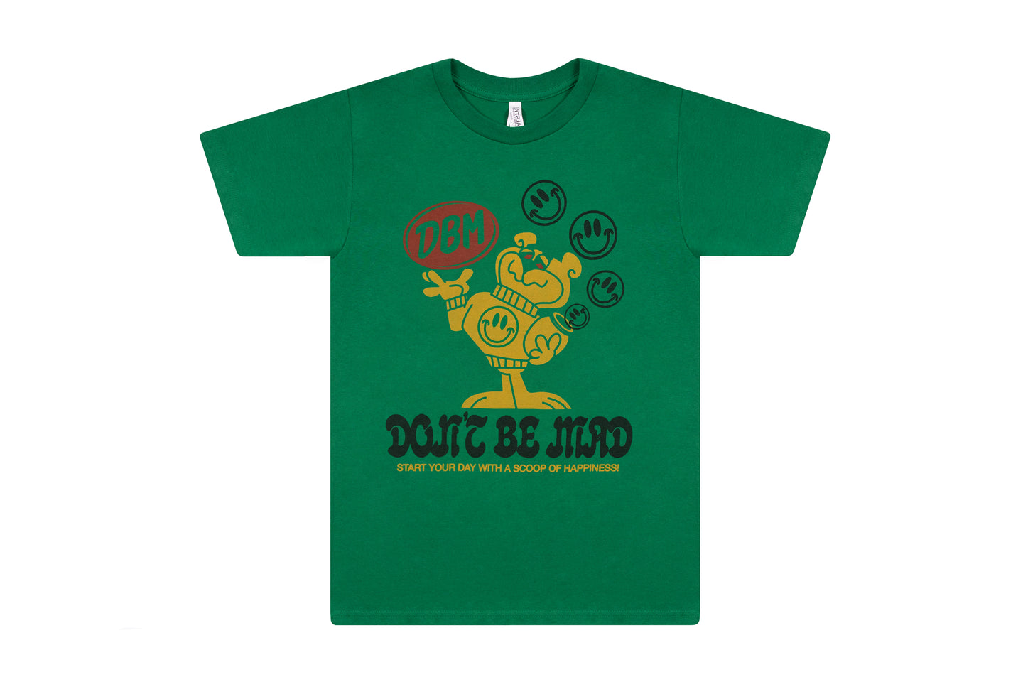 Scoop of Happiness Tee- Green