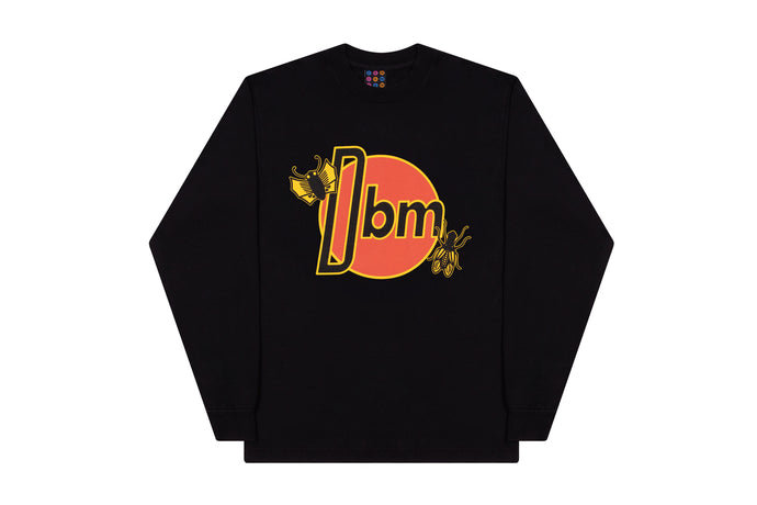 Fly City Long Sleeve Tee- Black