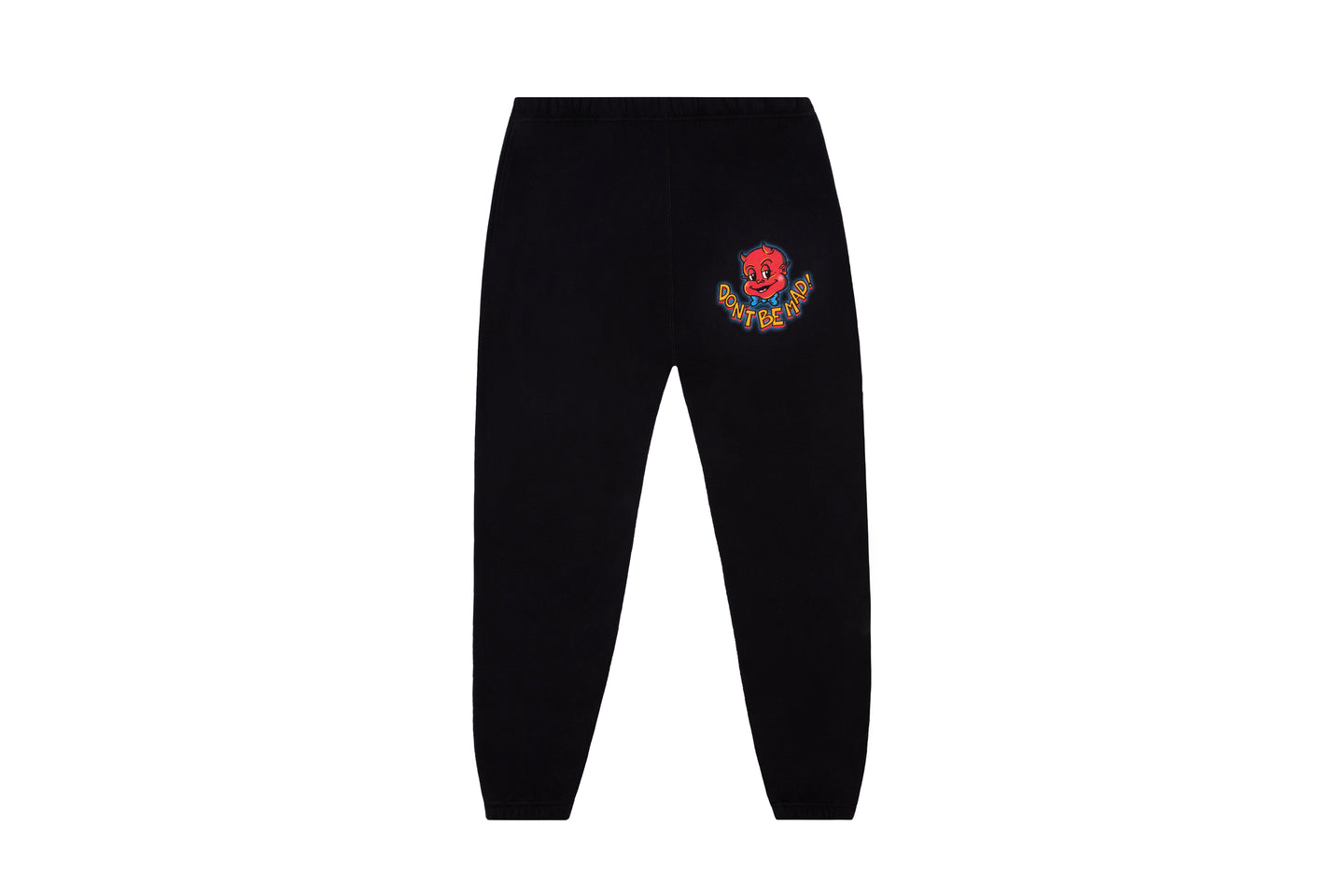 Smirk logo Sweatpants - Black