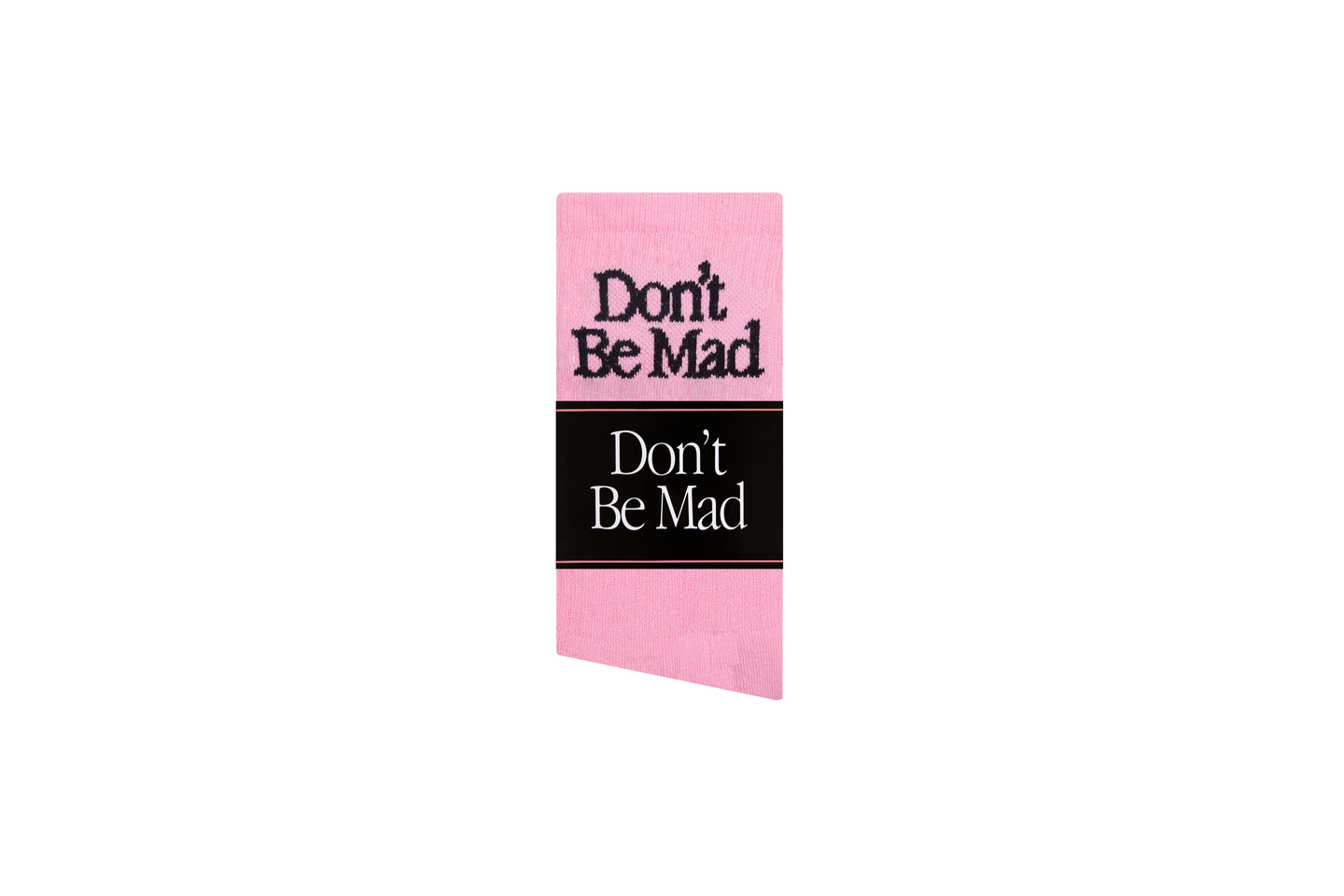 Don't Be Mad Socks- Pink