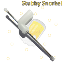 Load image into Gallery viewer, Stubby Snorkel - Hammered.Co