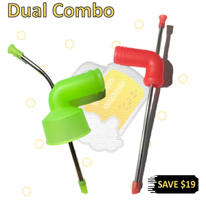 Dual Combo (1 x Can snorkel + 1 x Stubby snorkel) - Hammered.Co