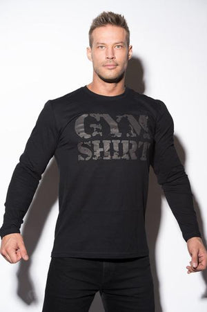 Gym Shirt - Mens - Long Sleeve Tee Shirt
