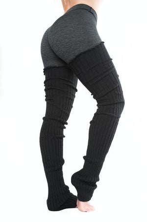 Thigh High Leg Warmers - Black SOLD OUT
